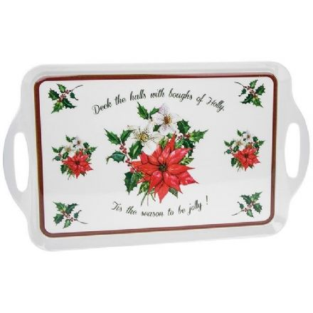 Deck the Halls Large Tray